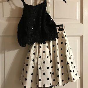 Size 1 homecoming dress